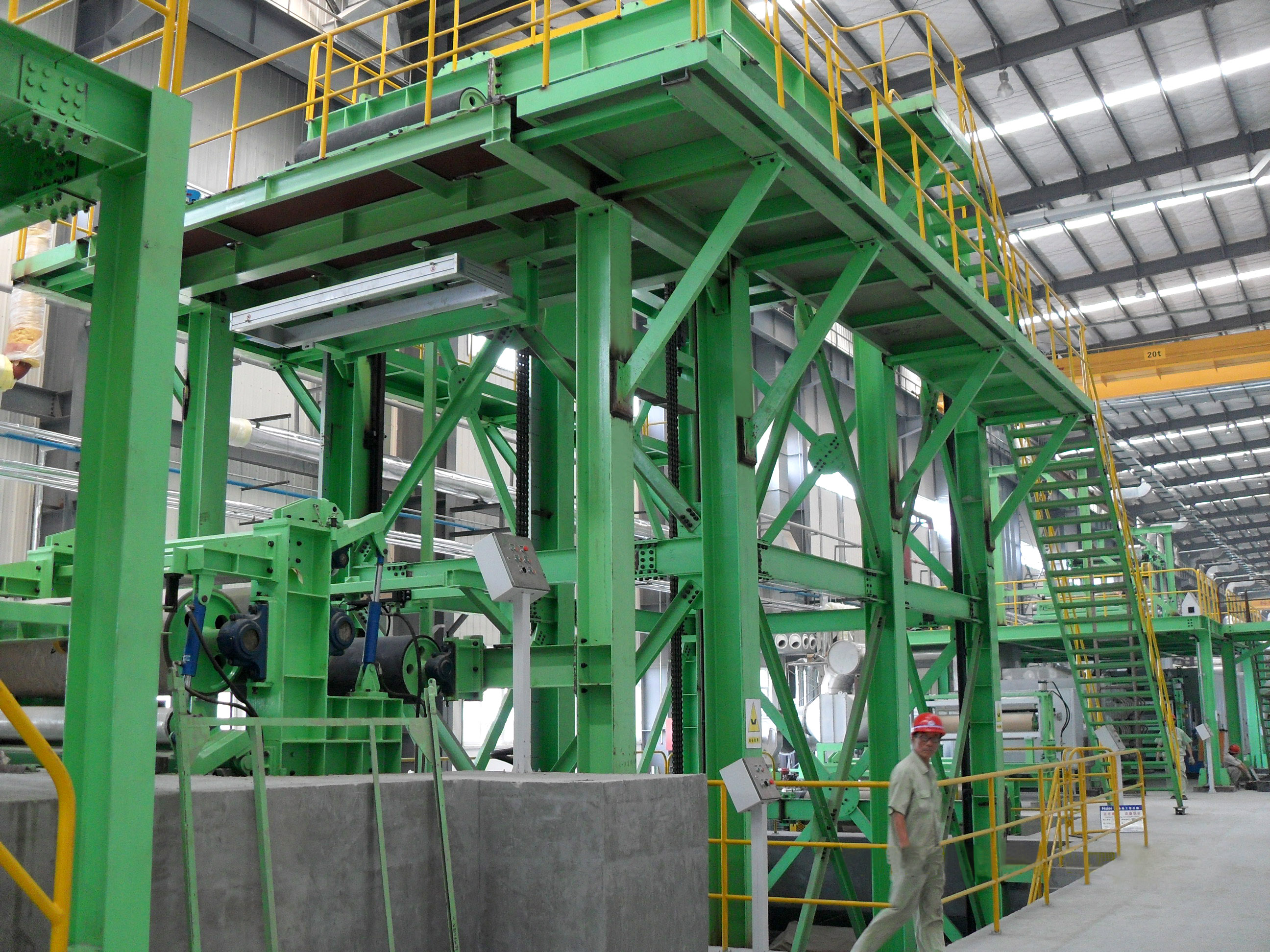 Color coating line for home appliance