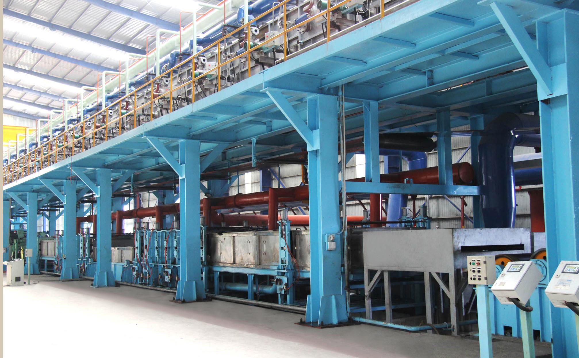 Carbon Steel Galvanized Line